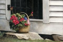 July Geraniums