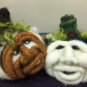 Needle Felted Pumpkin Workshop