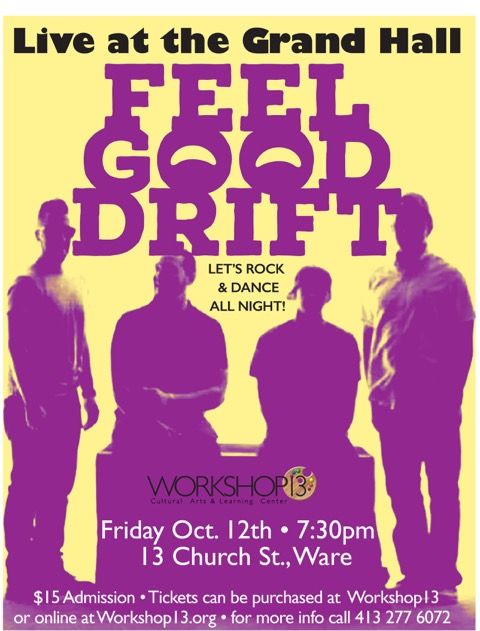 FEEL GOOD DRIFT! LIVE AT THE GRAND HALL